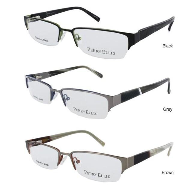 Shop Perry Ellis Men\'s PE257 Eyeglasses Frames - Free Shipping Today ...
