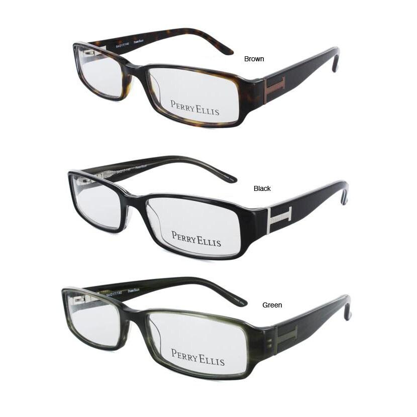 perry ellis mens pe246 eyeglasses frames