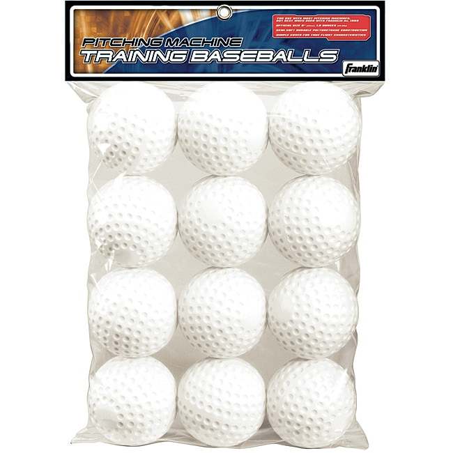 dimple balls for pitching machine
