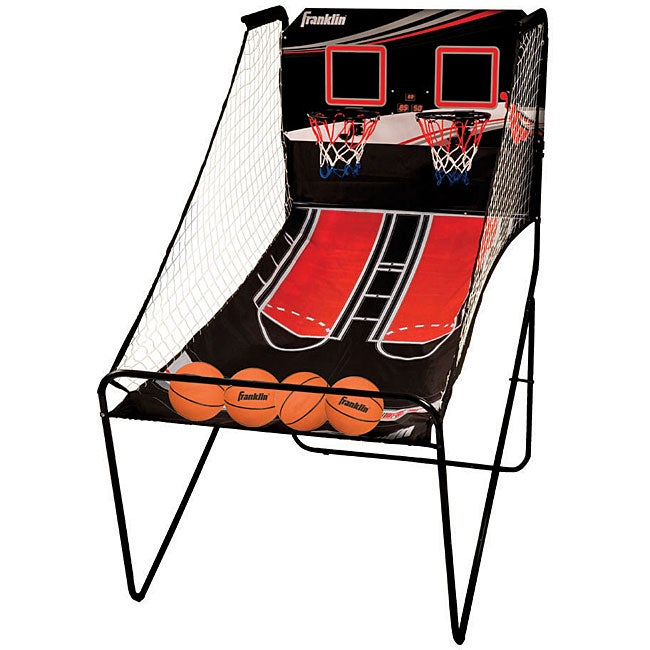 Franklin Sports Dual Court Basketball Game Free Shipping