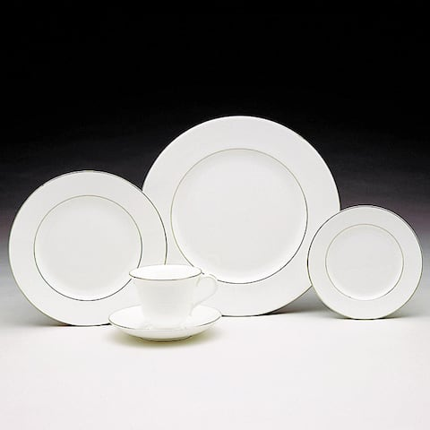 Signet Platinum 5-piece Fine Bone China Place Setting