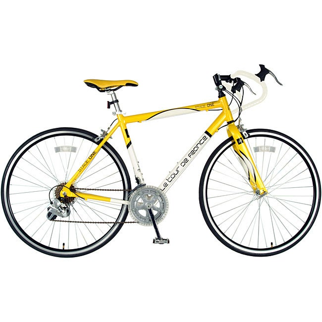 Tour De France Stage One Yellow Jersey Bike