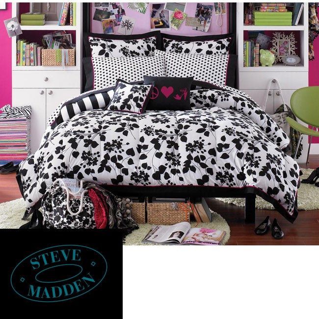 Steve Madden Juliet Queen-size Bed in a Bag with Sheet Set