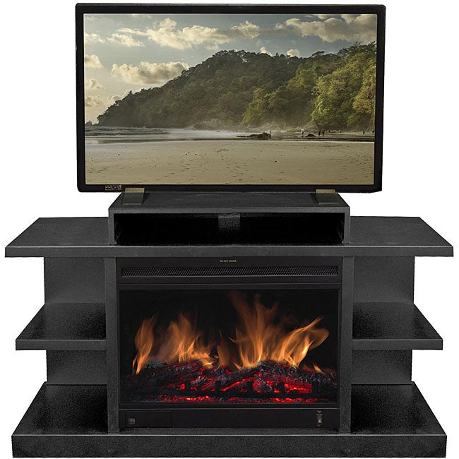 electric fireplace media center oak costco canada chandler