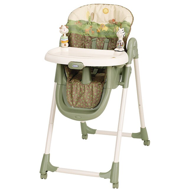 Shop Graco Meal Time High Chair in Safari Sun - Free Shipping Today - Overstock - 5316476  sc 1 st  Overstock.com & Shop Graco Meal Time High Chair in Safari Sun - Free Shipping Today ...