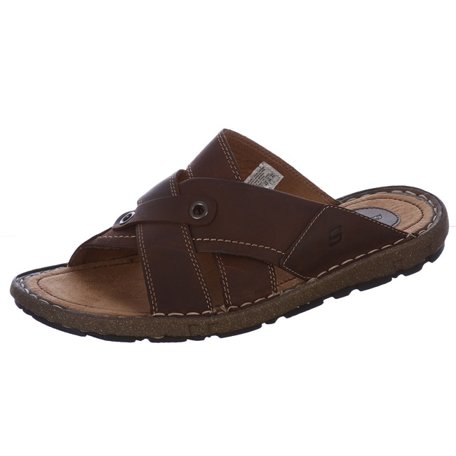 Skechers Men S Monet Leather Slide Sandals Free