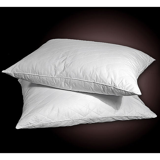Quilted Down Alternative Pillows (Set of 2)