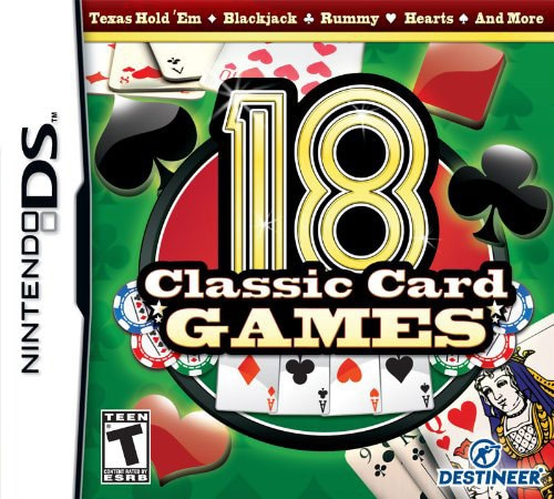 NinDS - 18 Classic Card Games
