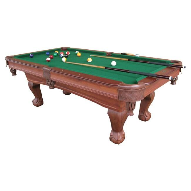 Shop ESPN Classic Claw Leg Inch Billiard Table Free Shipping - Classic billiard table