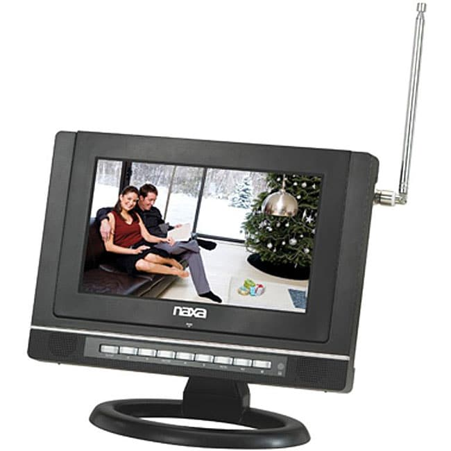 Naxa 9-inch Widescreen AC/DC Digital LCD TV/ DVD Player with USB/SD/MMC Inputs