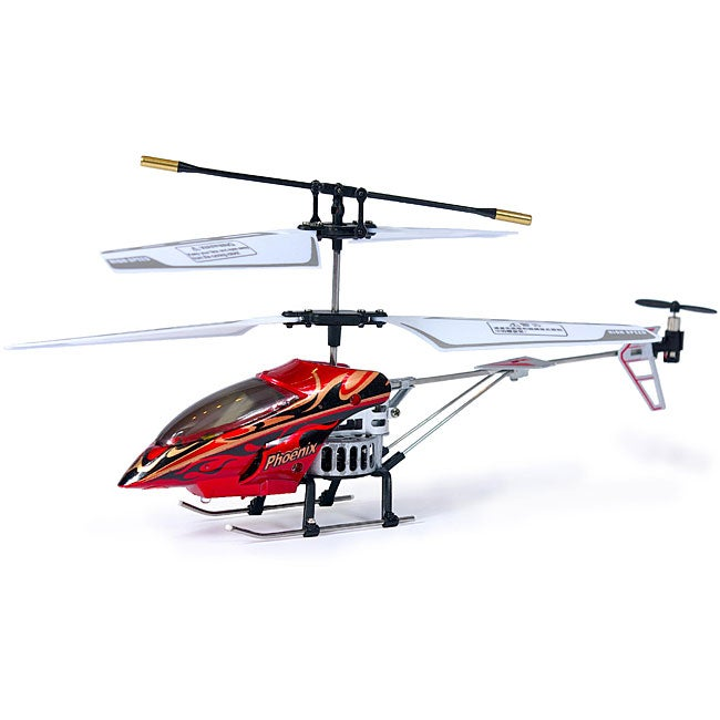 The Phoenix 3.5-channel RC Helicopter with Gyroscope Auto-Stabilization