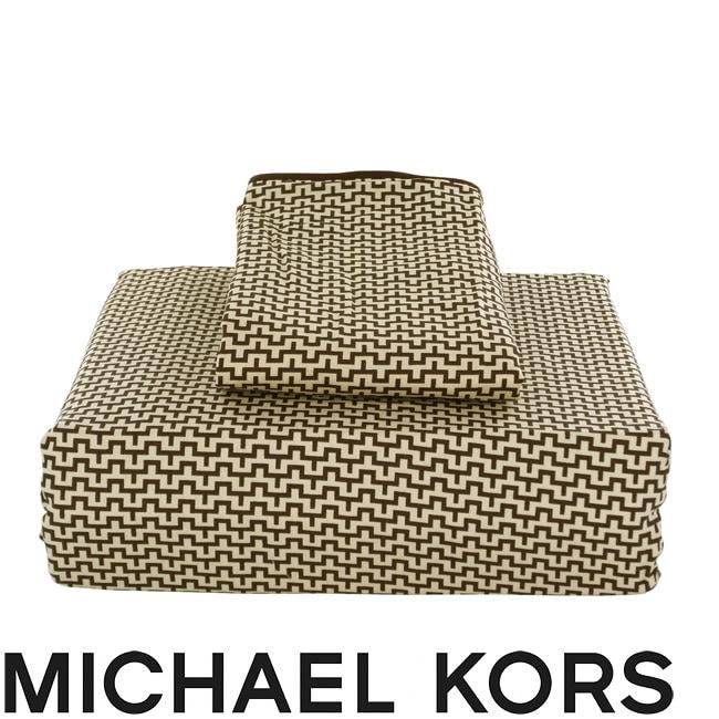 Michael Kors Taos Queen-size Sheet Set