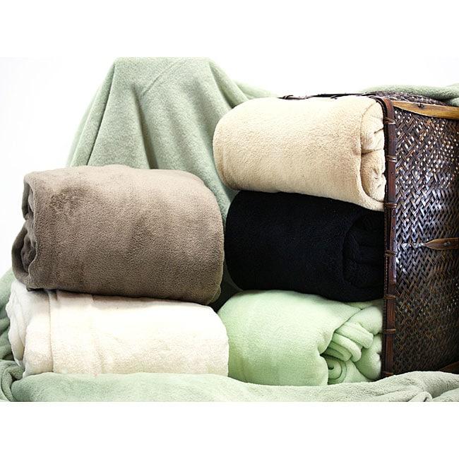 Duke Stevens Oversized Micro-fleece Blanket