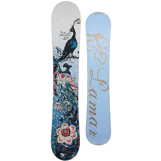 Shop Black Friday Deals On Lamar Fascination 149 Women S Snowboard Overstock 5333452