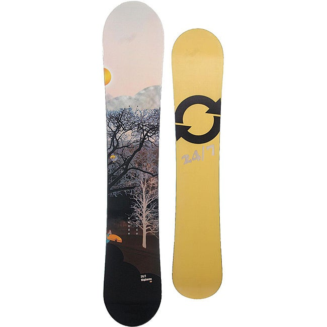 24/7 Unisex 'Highway' 160cm Directional Snowboard