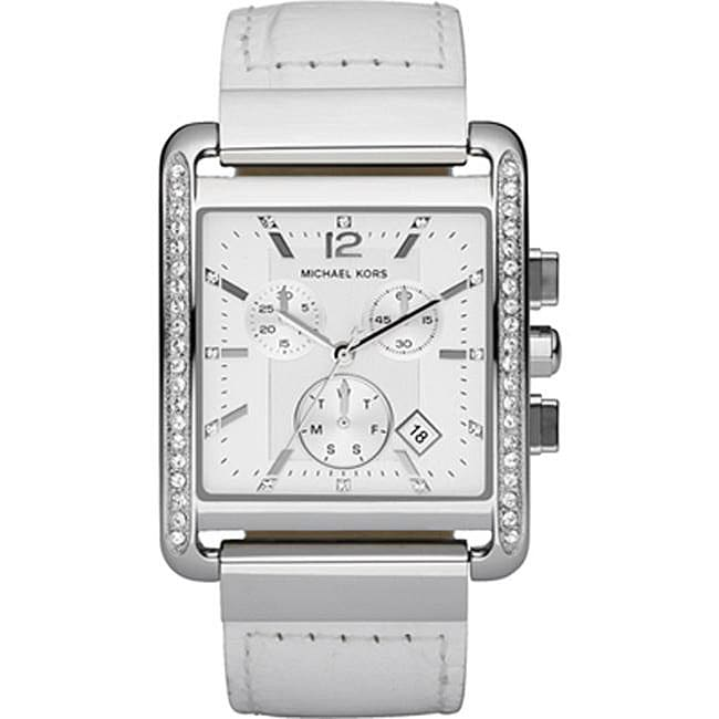 Michael Kors Women's MK2198 Leather Strap Watch