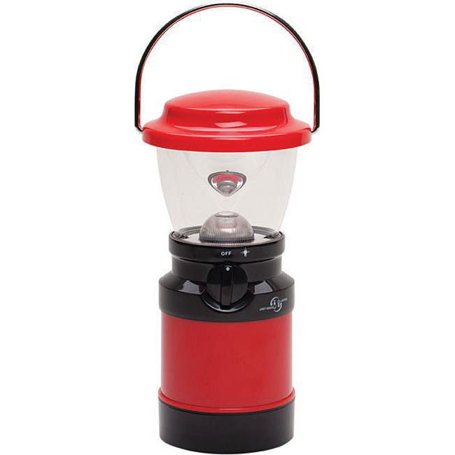Stansport 8-inch Red 1-watt LED Lantern/ Tent Light - Thumbnail 0