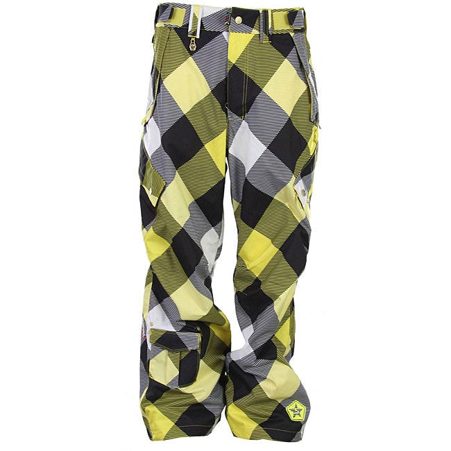 Sessions Men's 'Achilles' Plaid Snowboard Pants - Free Shipping ...