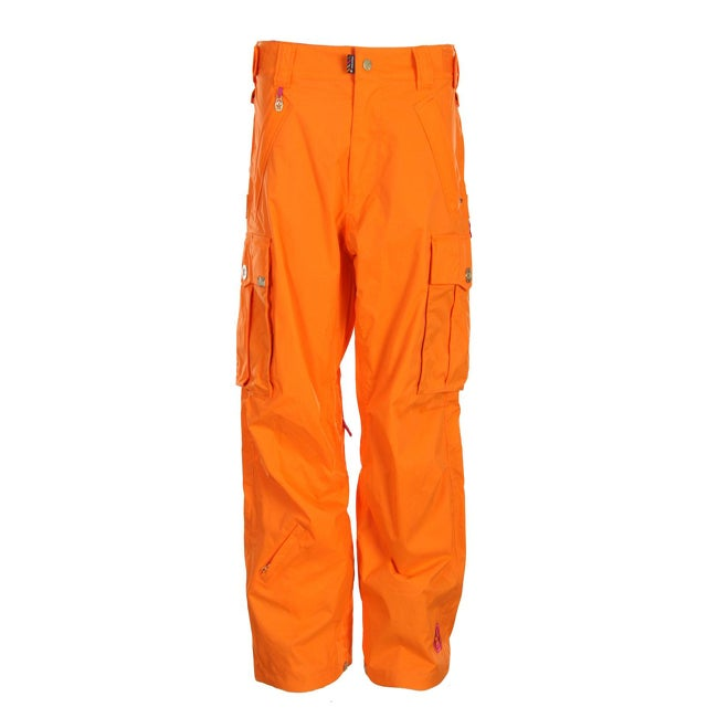 Sessions Women's 'Flight' Orange Cargo Snowboard Pants