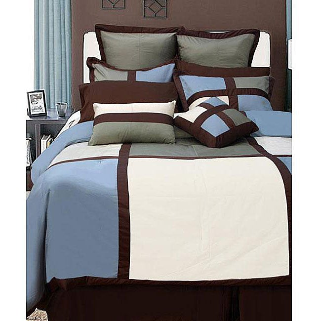 Dynasty 12-piece Bed in a Bag with Sheet Set