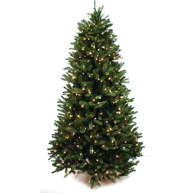 good tidings northern pine 65 ft artificial prelit christmas tree