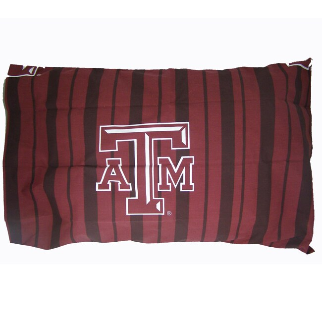 Texas A&M University Aggies King-size Pillowcase