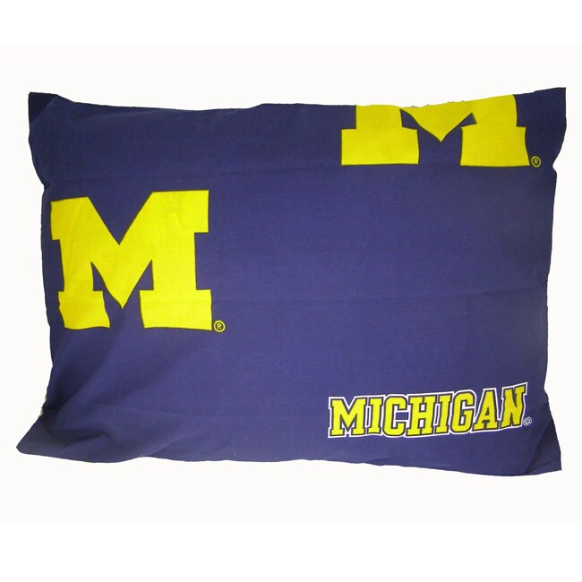 University of Michigan Wolverines Pillowcase