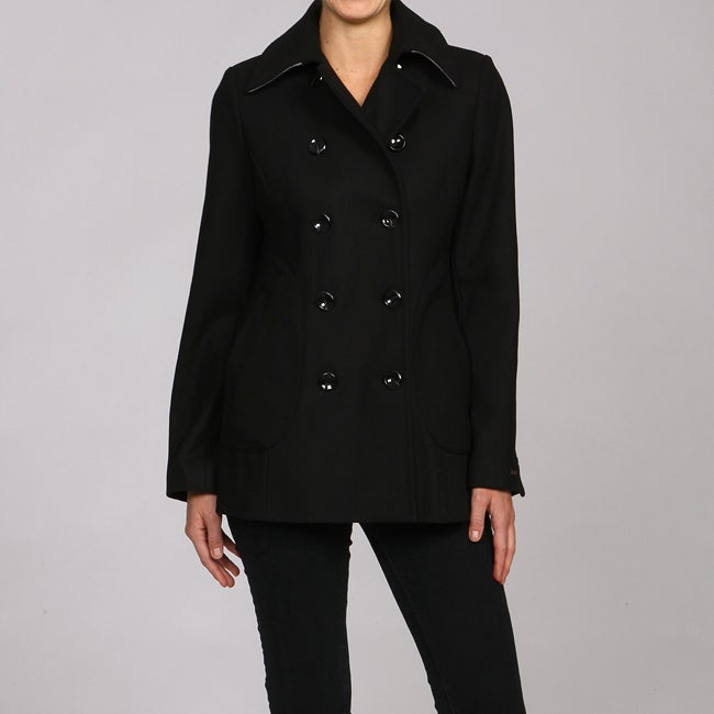 Tommy Hilfiger Women's Wool Peacoat - Thumbnail 0