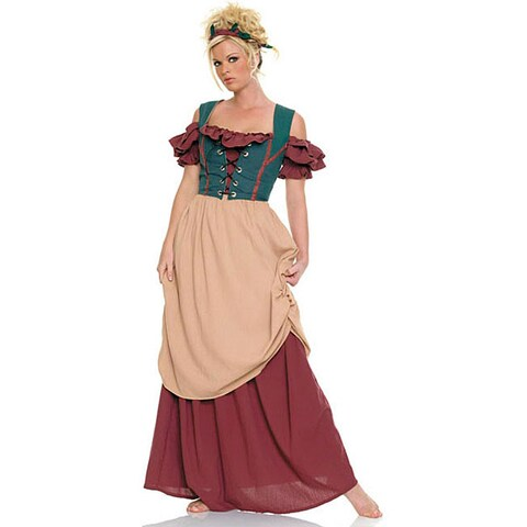 Dress Up America Women's 4-piece Renaissance Lady Costume