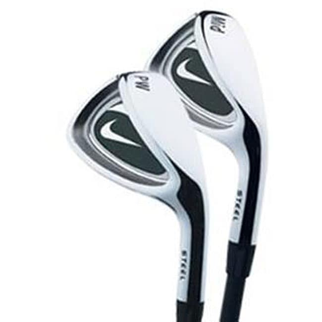 Nike Junior's Eagle Silver Center-shafted Right-handed 260-gram Wedge