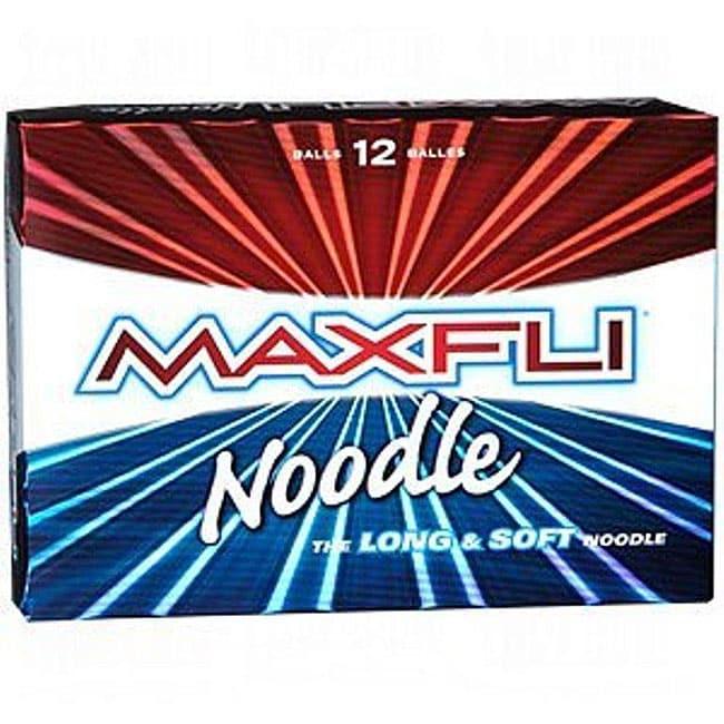 Maxfli Noodle Long and Soft Golf Balls