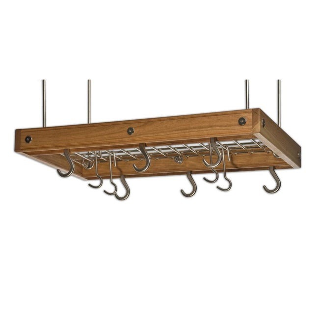 J.K. Adams Cherry Ceiling Pot Rack