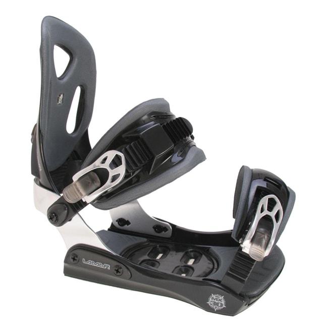 Lamar Men's Black MX30 Snowboard Bindings