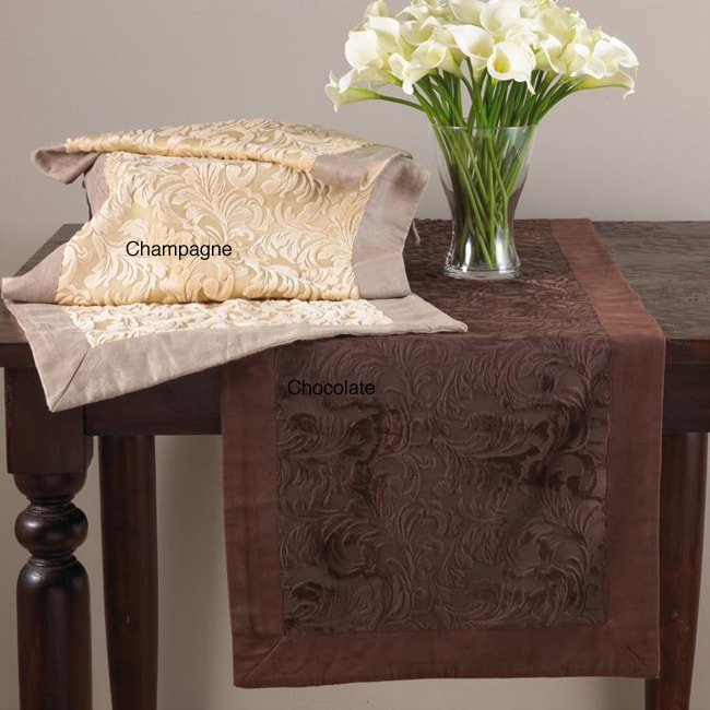 Mariano Faux Suede Table Runner
