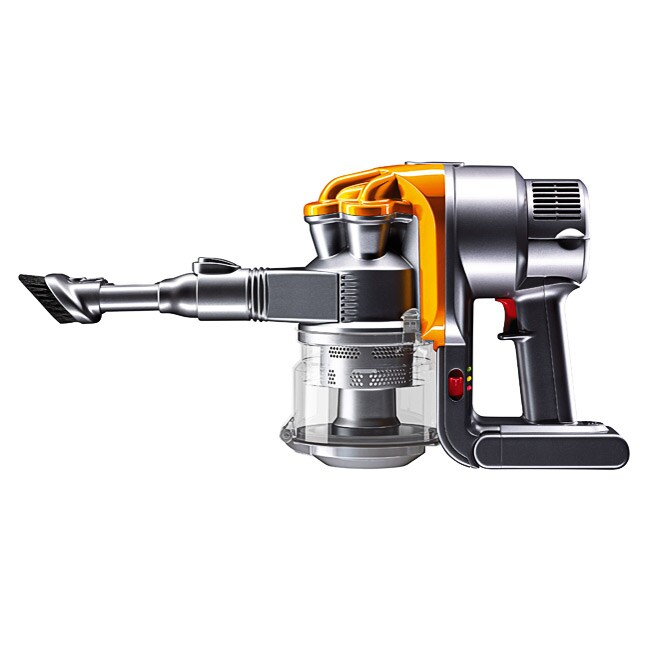 dyson dc16 yellow iron handheld vacuum refurbished free shipping today. Black Bedroom Furniture Sets. Home Design Ideas