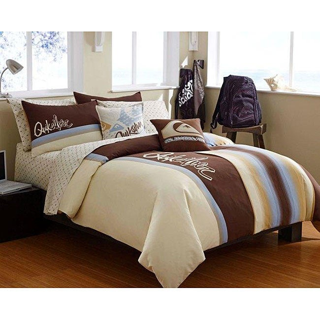 Quiksilver Bleeker Street Twin-size Duvet Cover Set