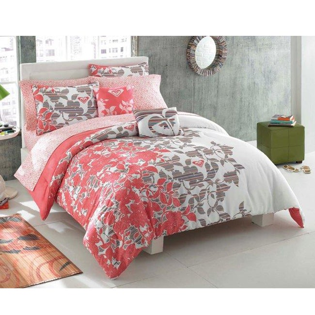 Roxy Gwen 9-piece Full-size Bed in a Bag with Sheet Set