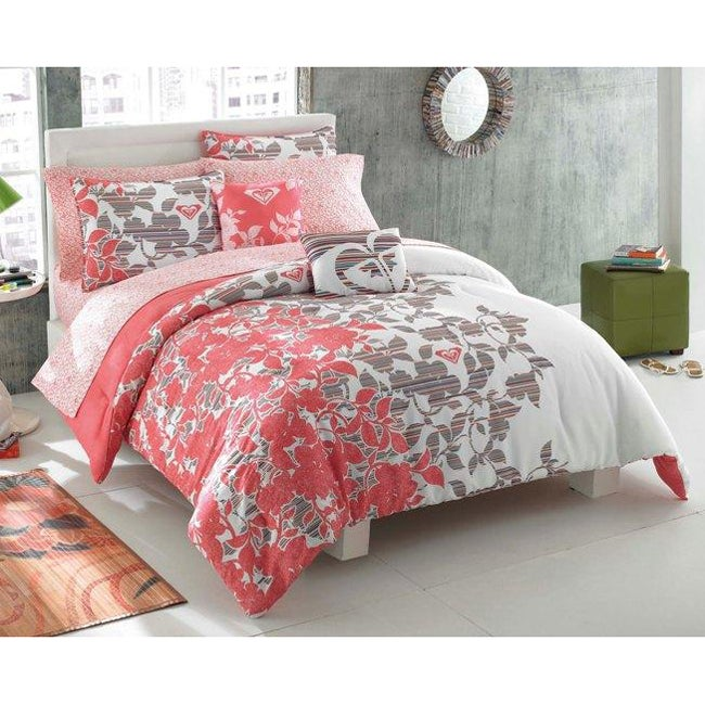 Roxy Gwen 7-piece Twin-size Bed in a Bag with Sheet Set