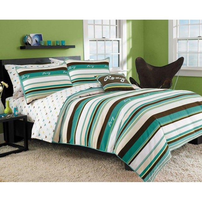 Roxy Brynn 8-piece Full-size Bed in a Bag with Sheet Set