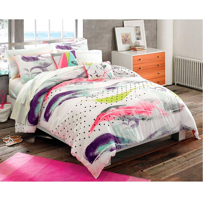 Roxy Shadow 9-piece Queen-size Bed in a Bag with Sheet Set