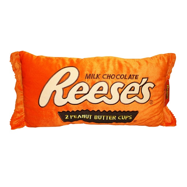 Reese's Cup Large 36-inch Plush Pillow