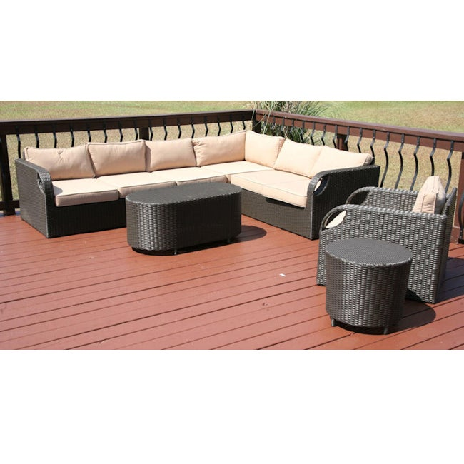Outdoor Patio Furniture Savannah Ga: Savannah Classics Belize Outdoor Resin Wicker Patio