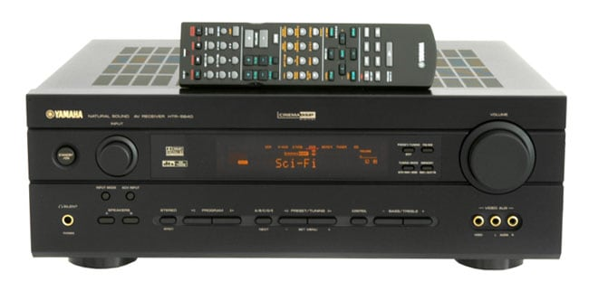 Yamaha HTR-5640 6-channel Home Theater Receiver (Refurbished)