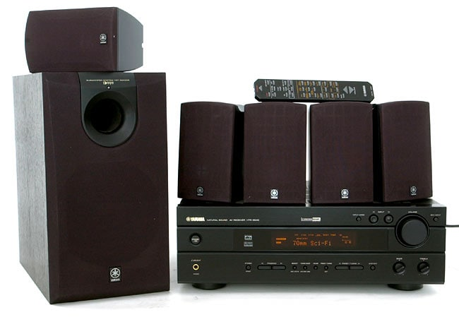 Yamaha yht 300 5 1 channel home theater system for Yamaha home stereo systems