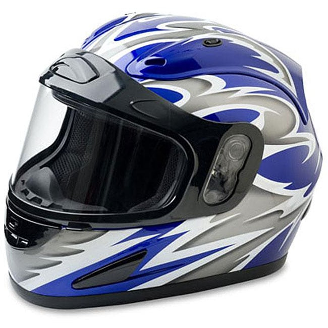 Mossi Blue Full Face Snow Helmet - Thumbnail 0