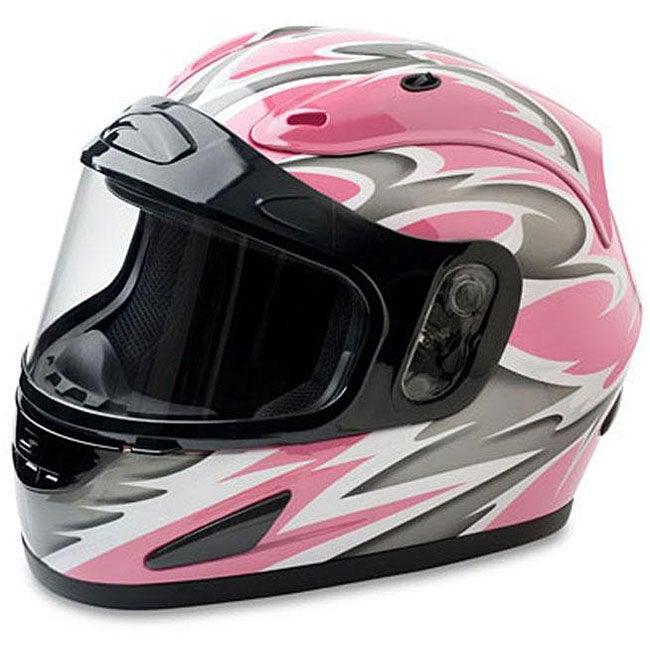 Mossi Pink Full Face Snow Helmet - Thumbnail 0
