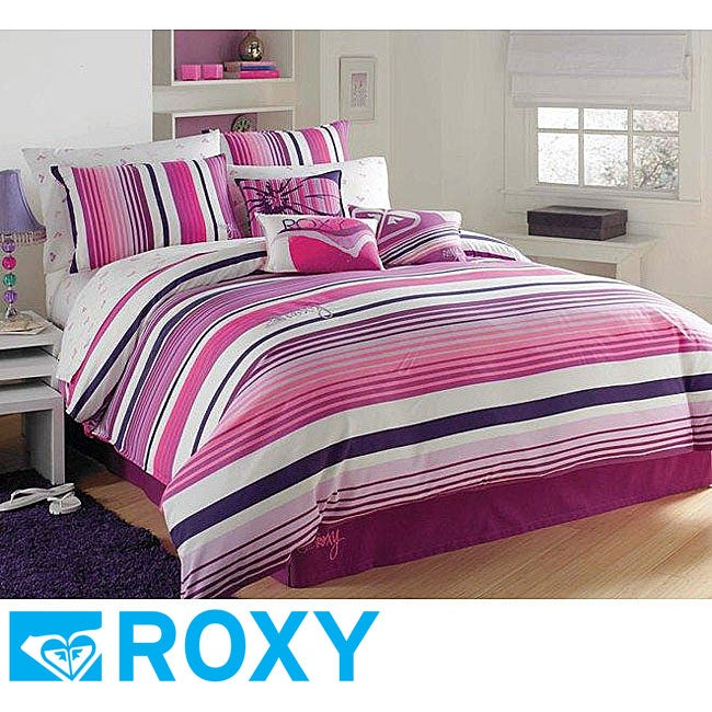 Roxy Sun Kissed Stripe Twin-size 2-piece Duvet Cover Set