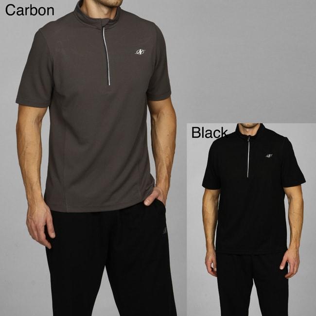 NordicTrack Men's 1/4-zip Short-sleeve Top