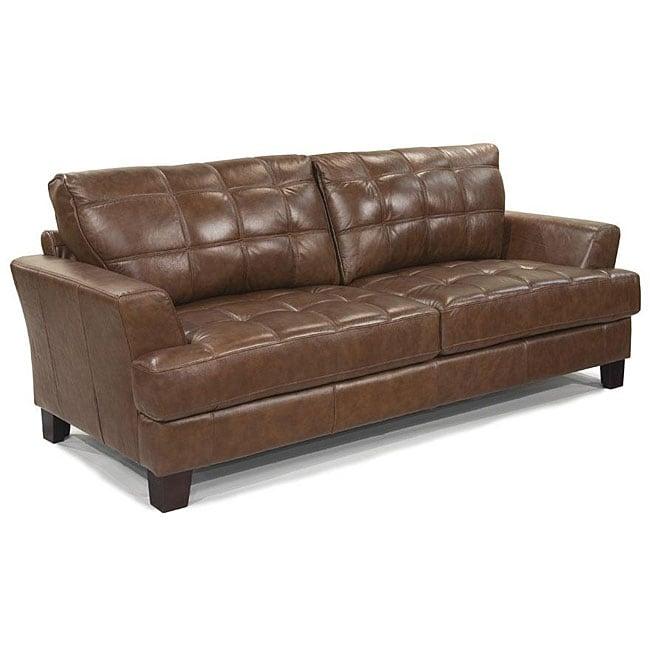 split leather sofa orange leather sofa roselawnlutheran. Black Bedroom Furniture Sets. Home Design Ideas