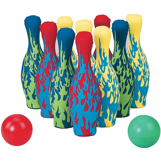 Small World Toys Lucky Lanes Bowling Set